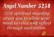 5258 angel number