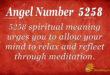 5258 angel number