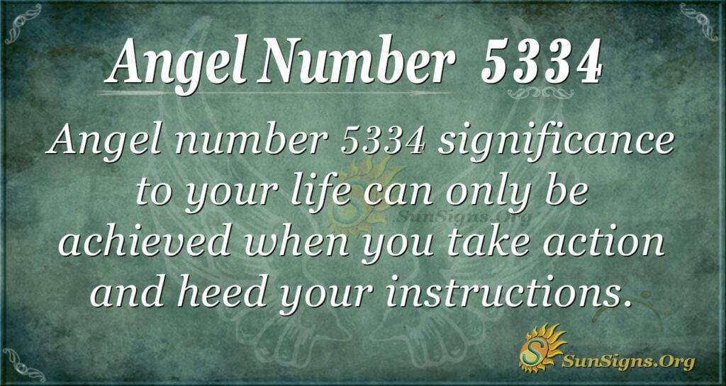 5334 angel number
