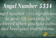 5334 angel number