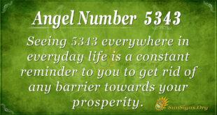 5343 angel number