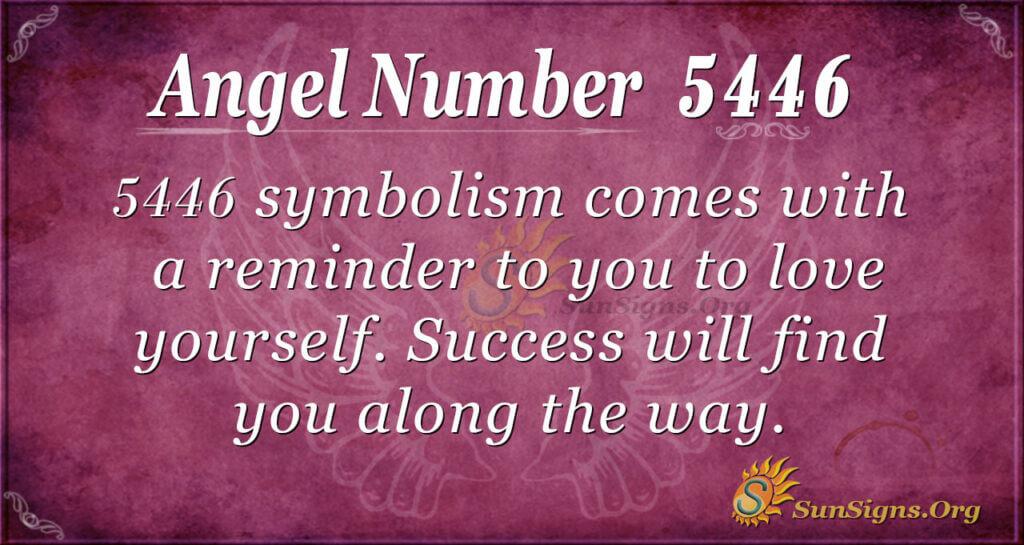 5446 angel number