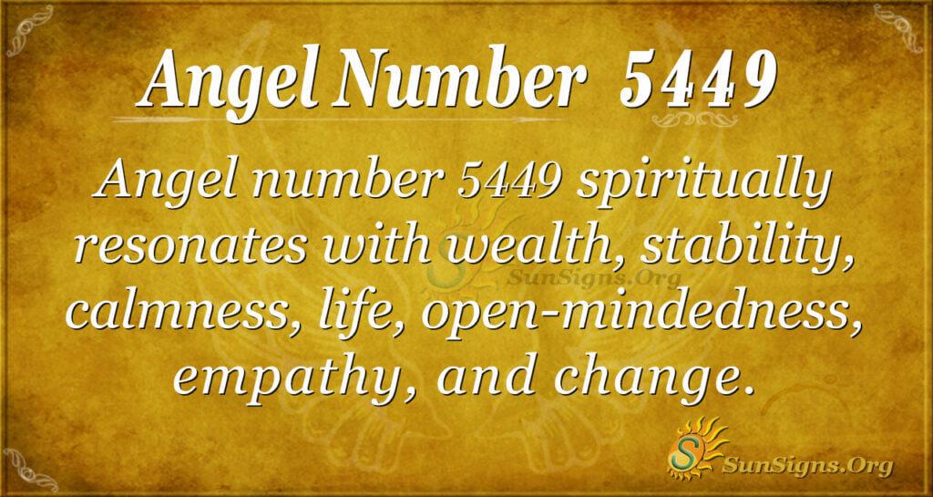 5449 angel number