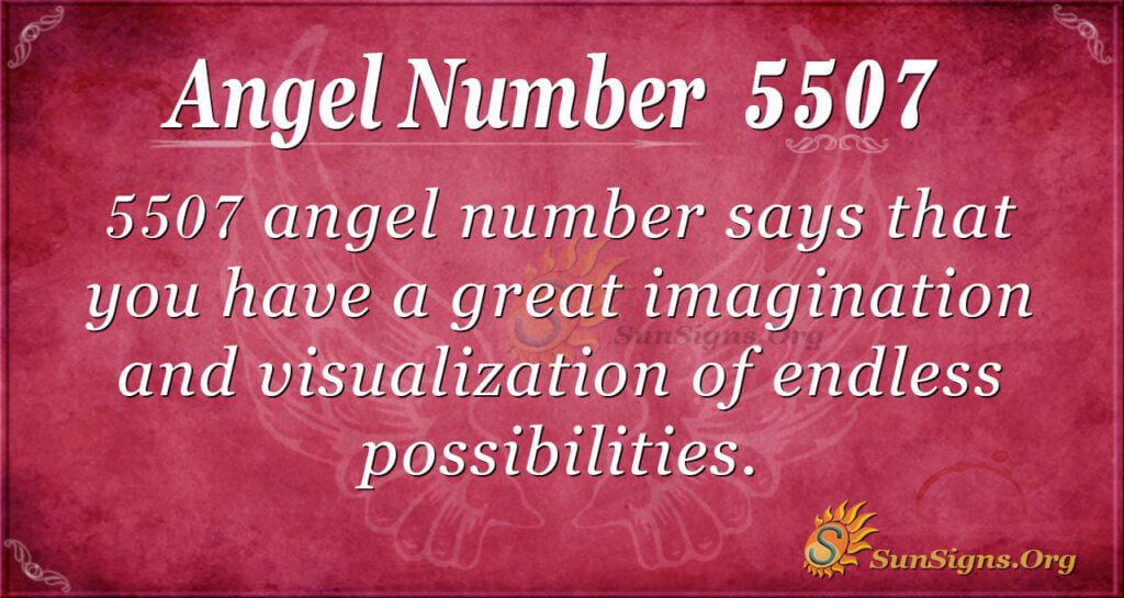 5507 angel number