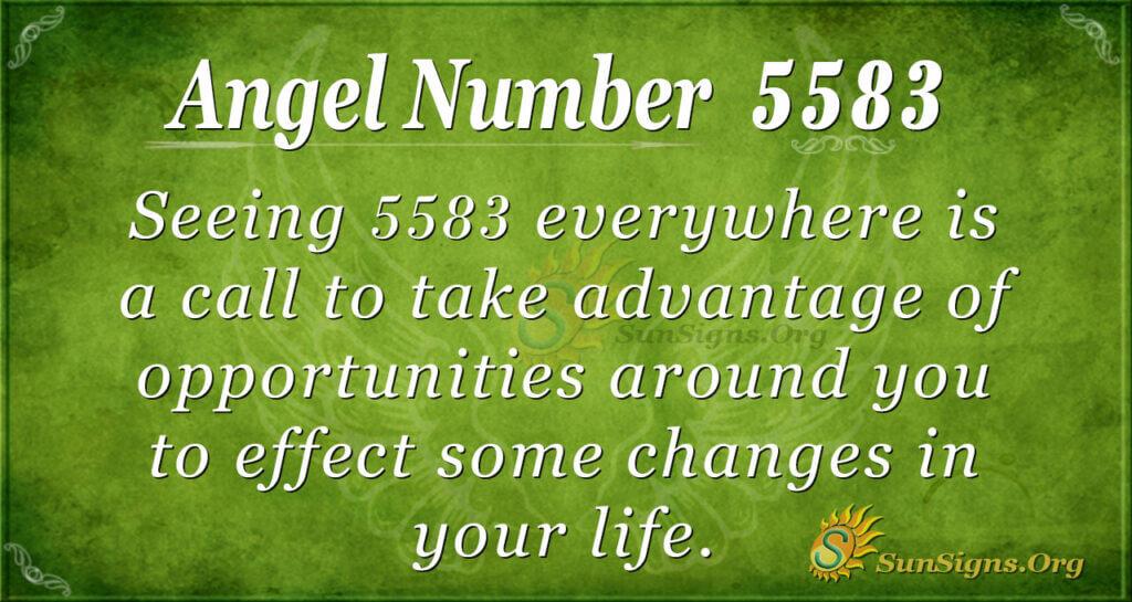5583 angel number