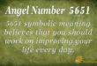 5651 angel number