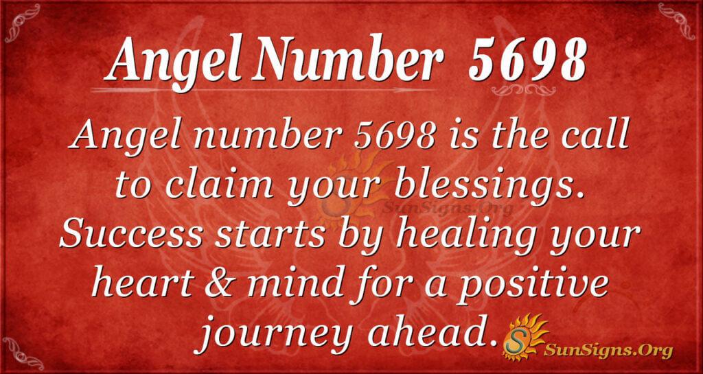 5698 angel number