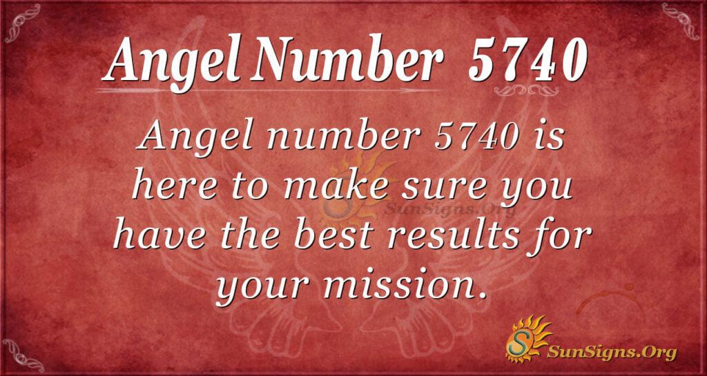 5740 angel number
