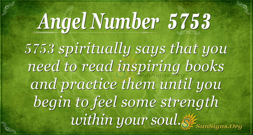 5753 angel number