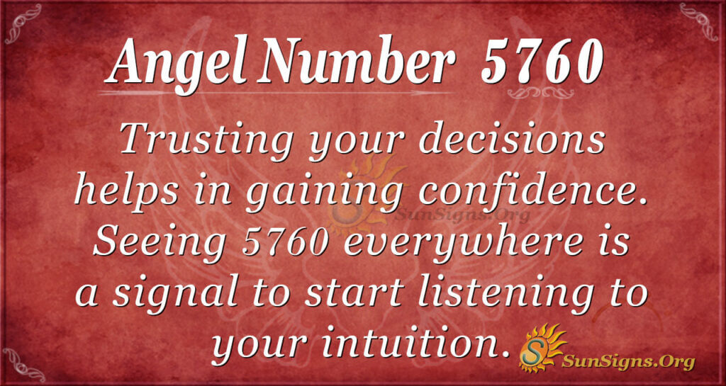 5760 angel number