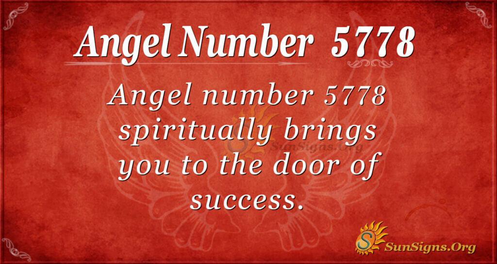 5778 angel number