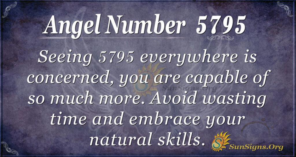 5795 angel number