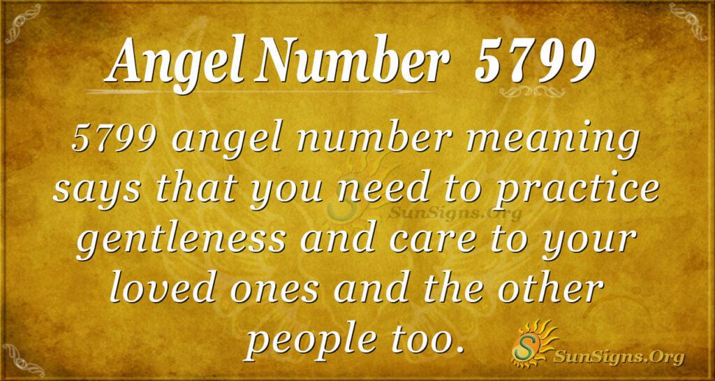 5799 angel number