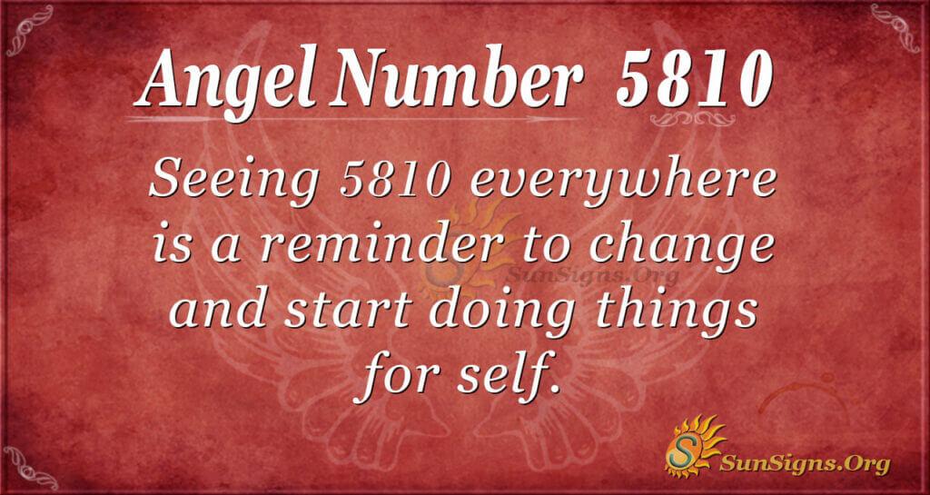 5810 angel number