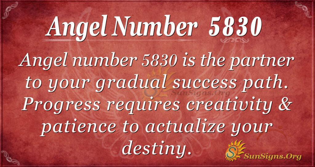 5830 angel number