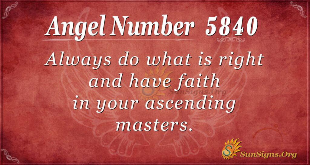 5840 angel number