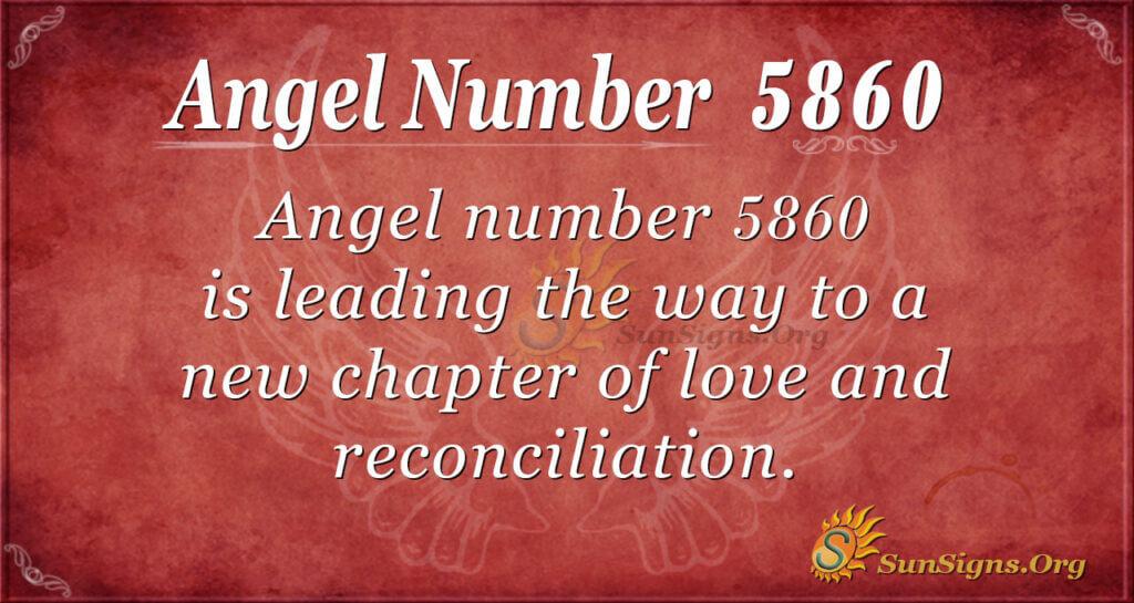 5860 angel number