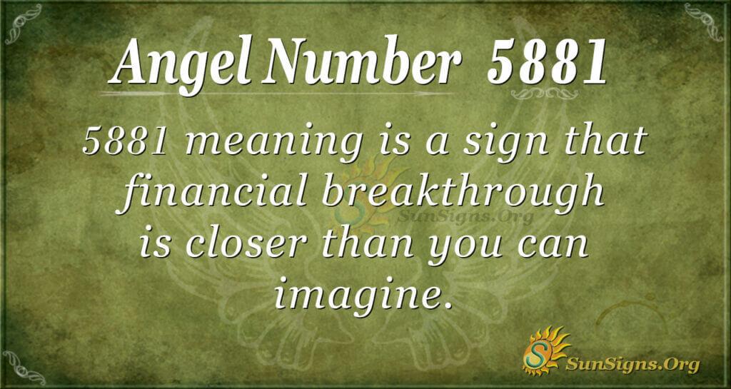 5881 angel number