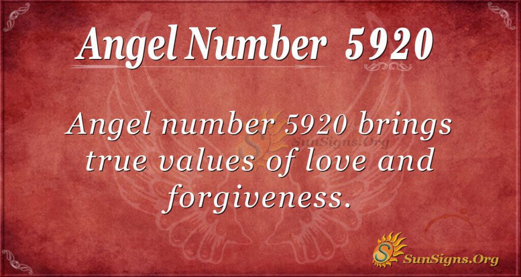 5920 angel number