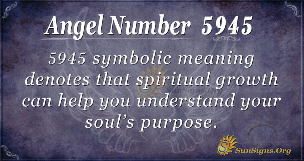 5945 angel number
