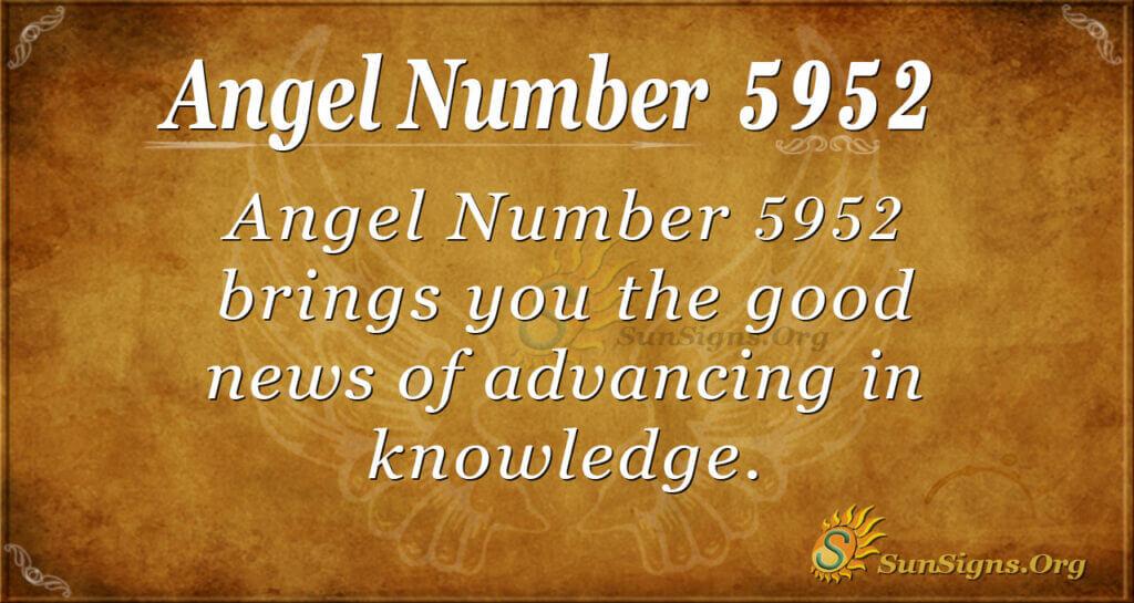 5952 angel number