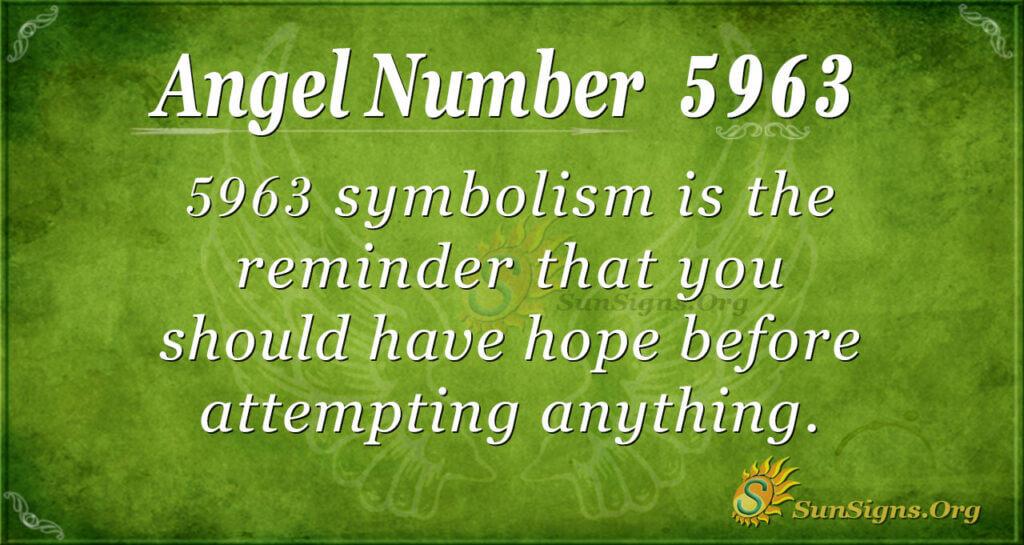 5963 angel number