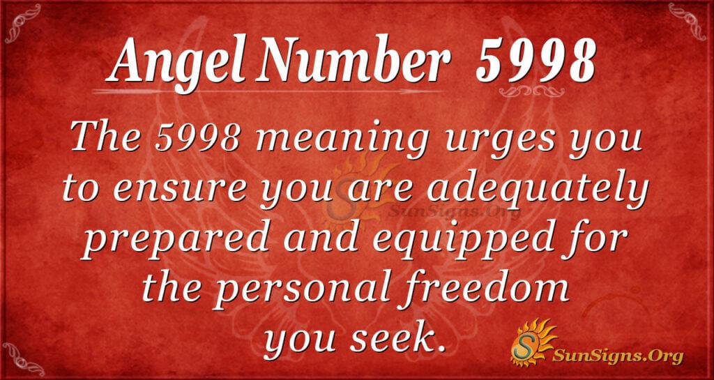 5998 angel number