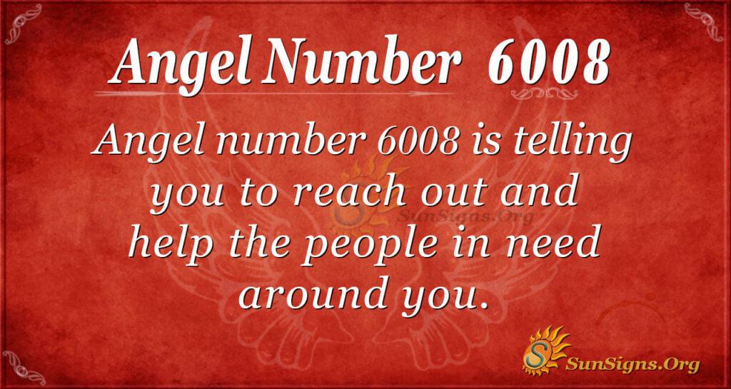 6008 angel number