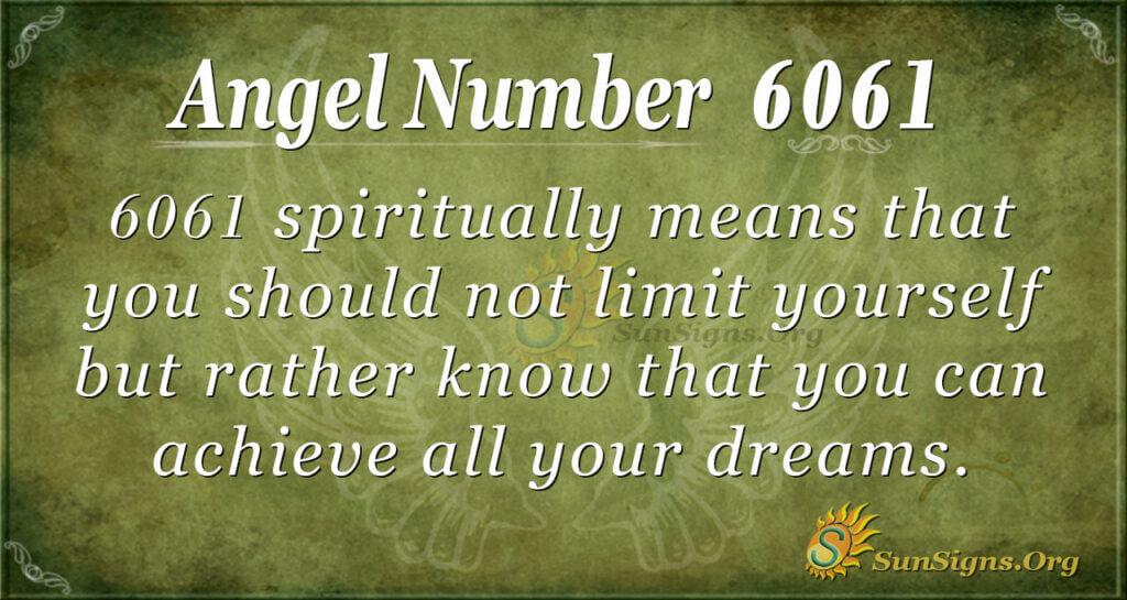 6061 angel number