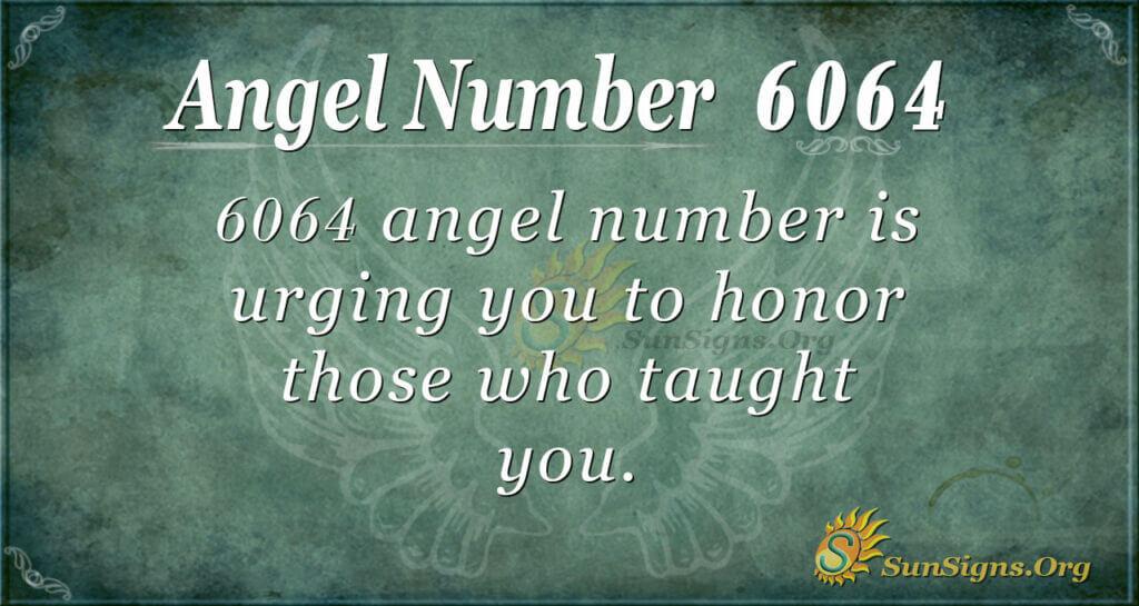 6064 angel number