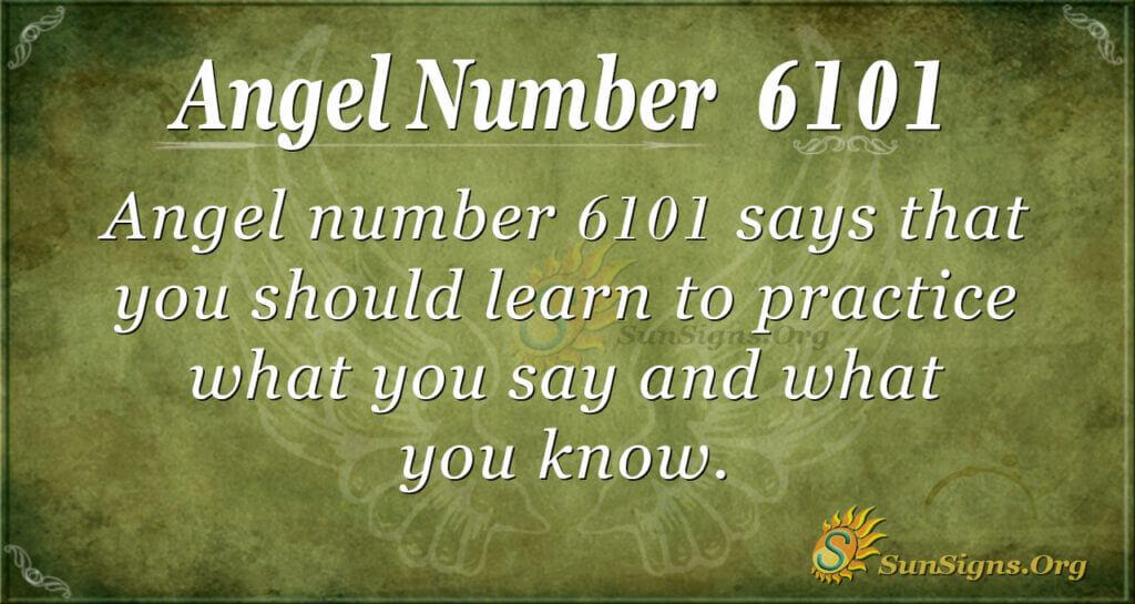 6101 angel number