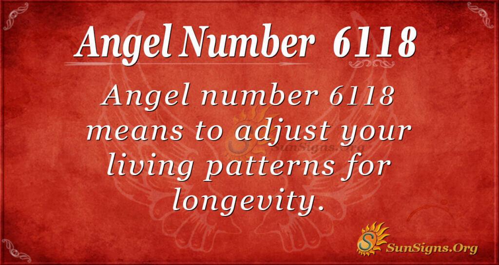 6118 angel number