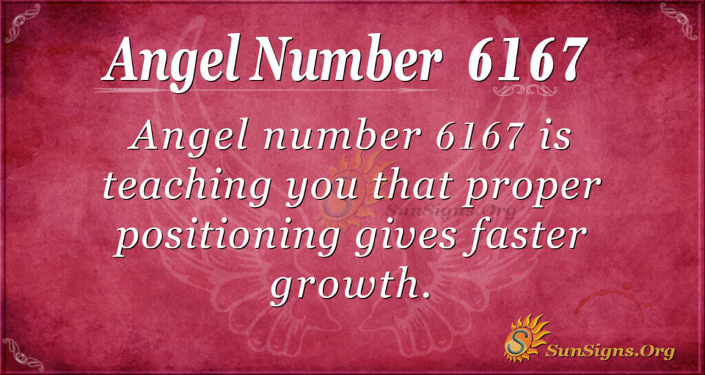 6167 angel number