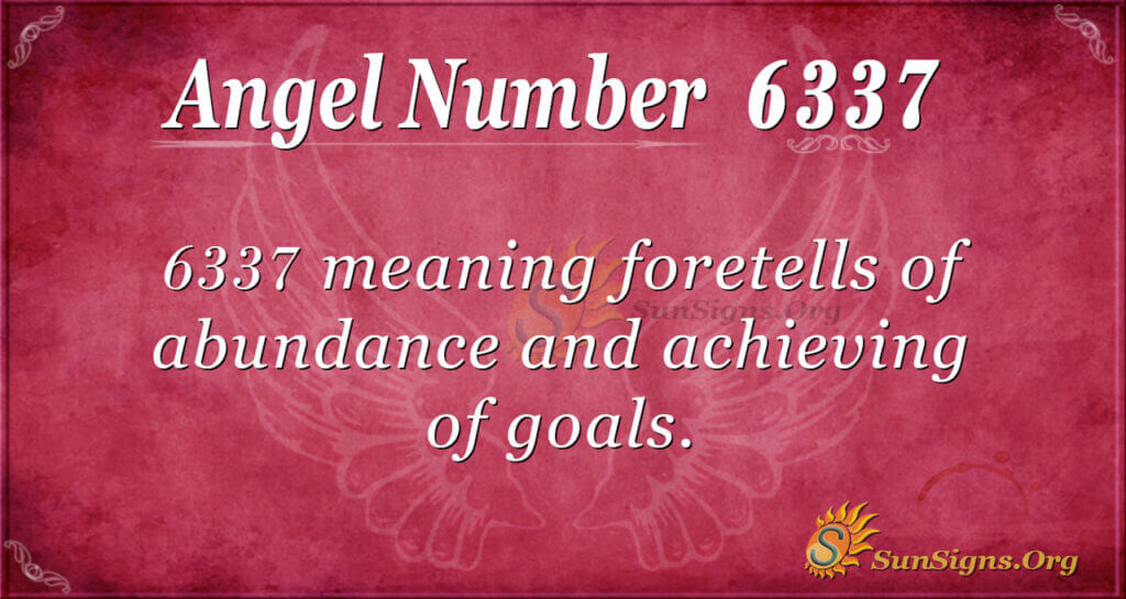6337 angel number