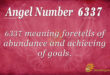 6337 angel number