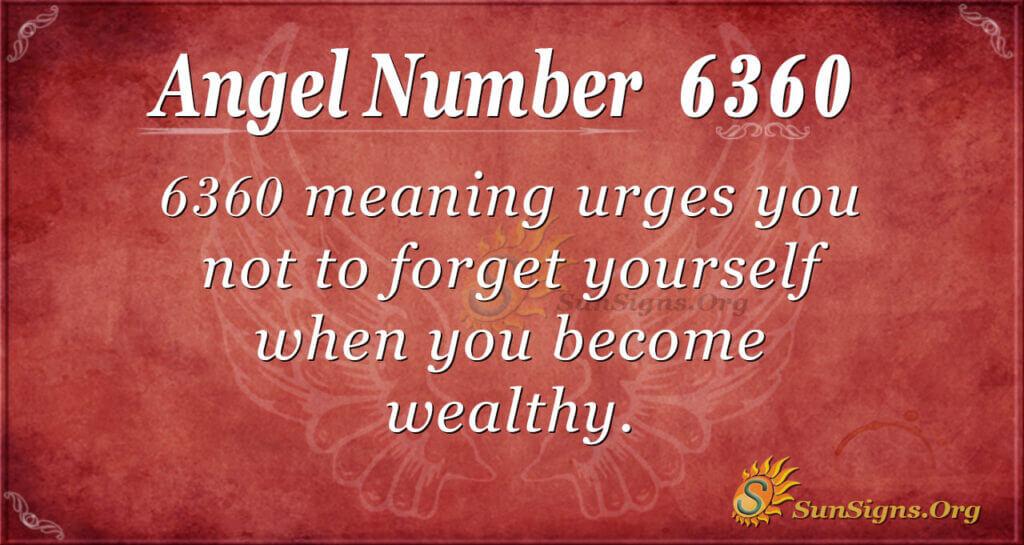 6360 angel number