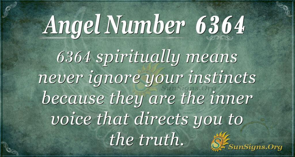 6364 angel number