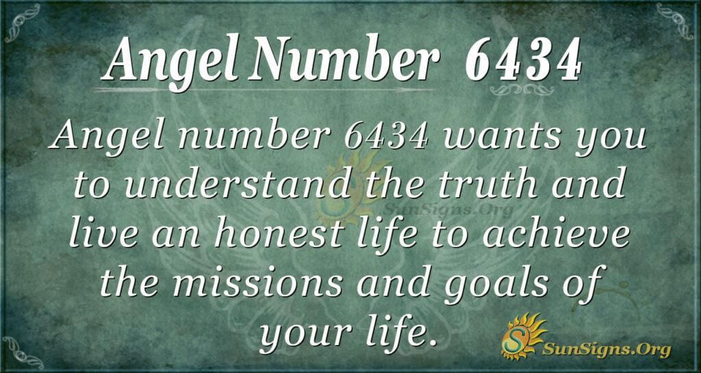 6434 angel number