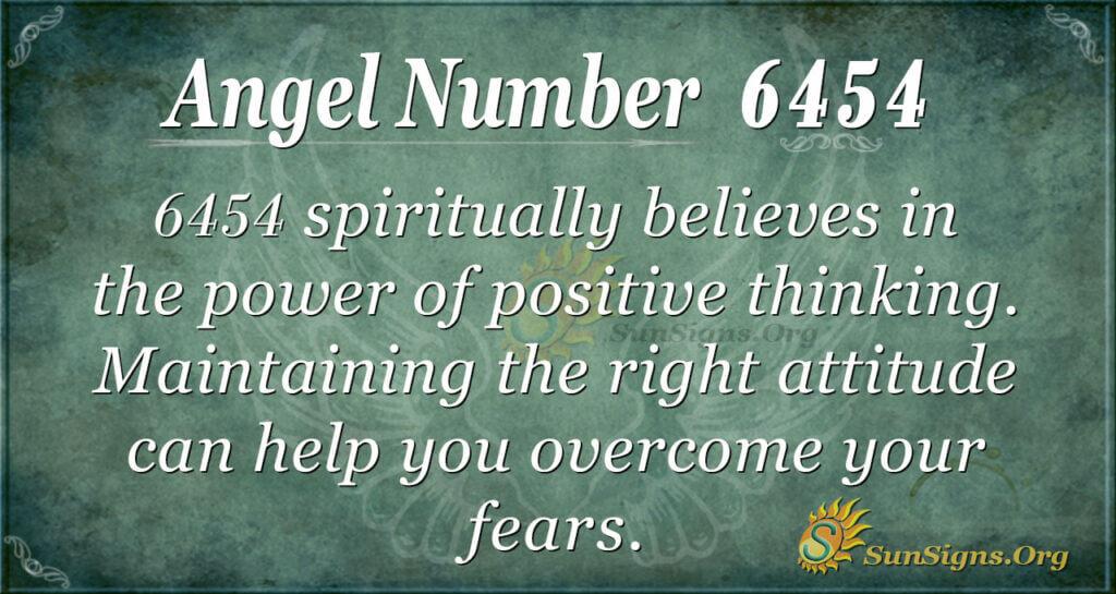 6454 angel number