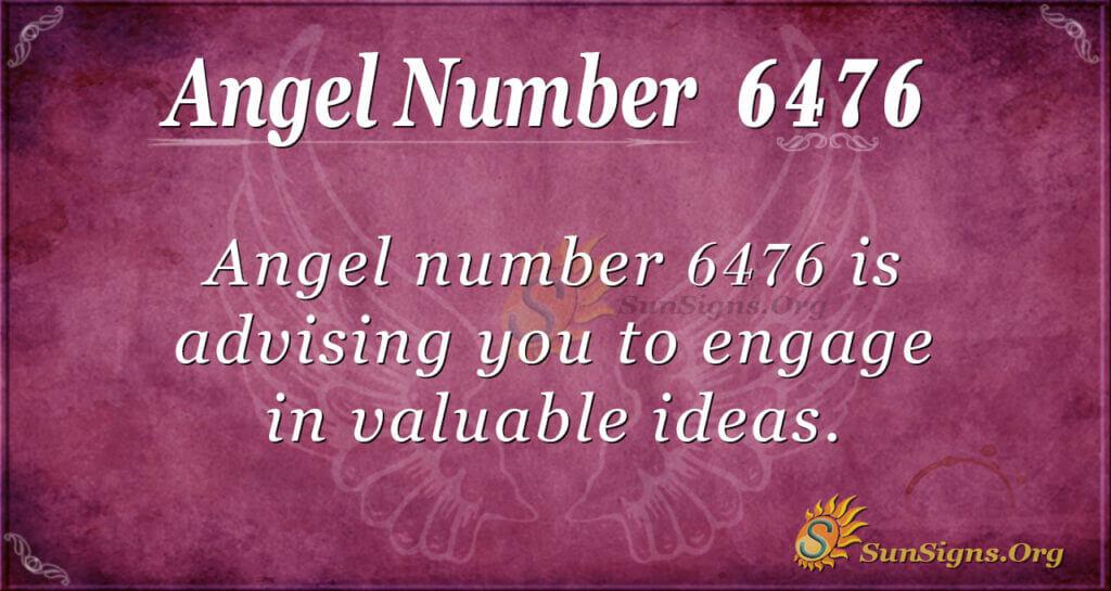 6476 angel number