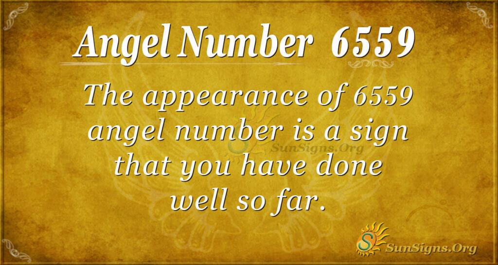 6559 angel number