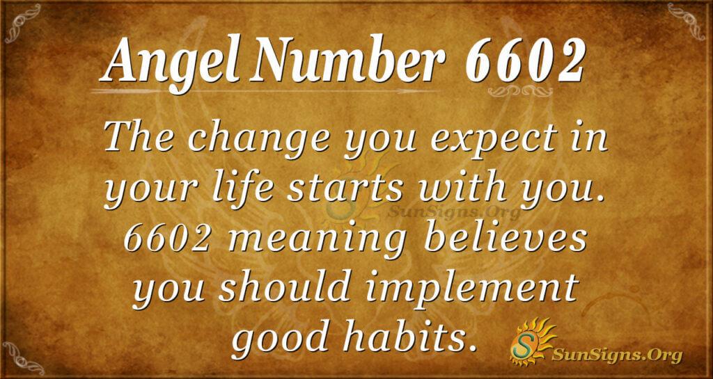 6602 angel number