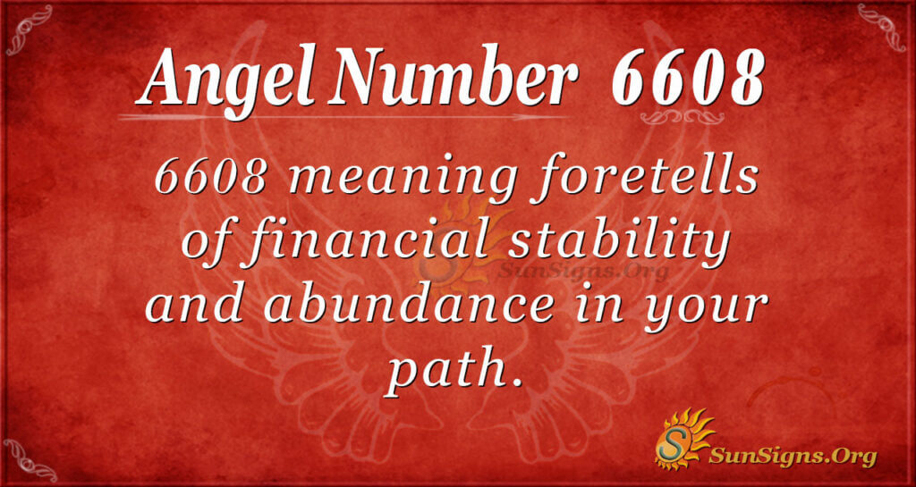 6608 angel number