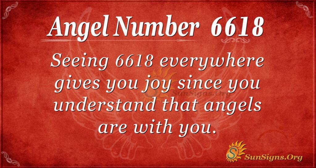 6618 angel number