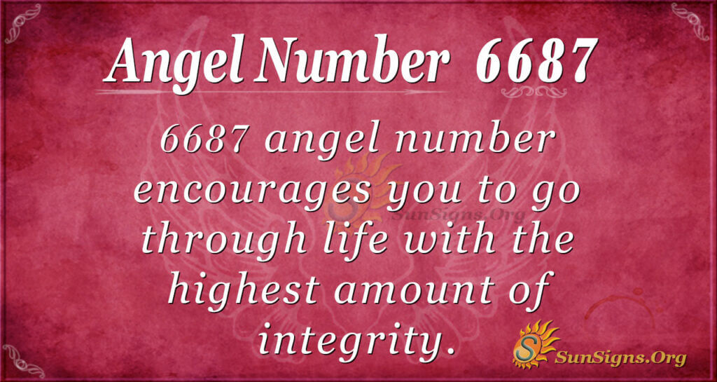 6687 angel number