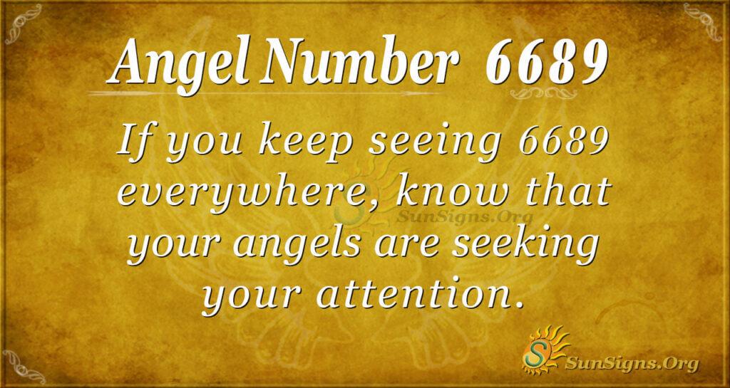 6689 angel number