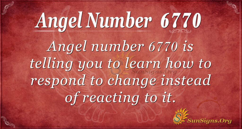 6770 angel number