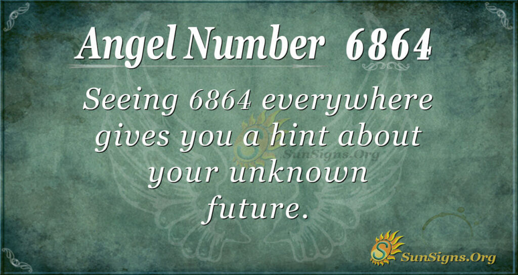 6864 angel number