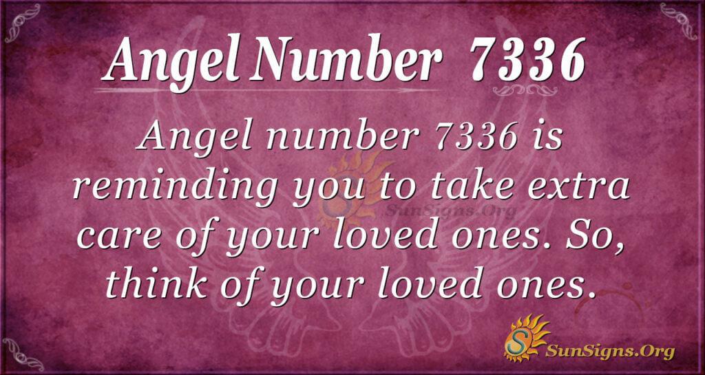 7336 angel number
