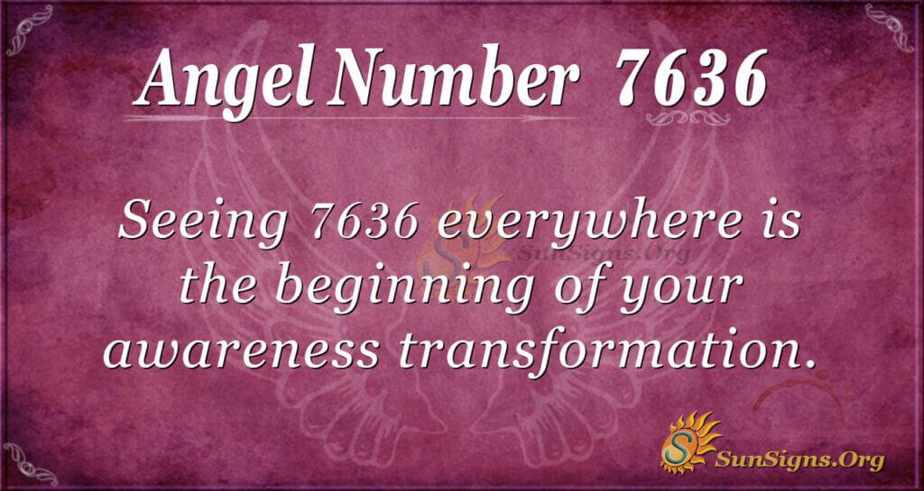 7636 angel number